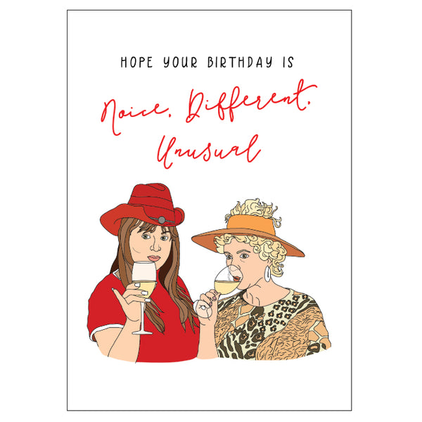 Kath & Kim Birthday Card