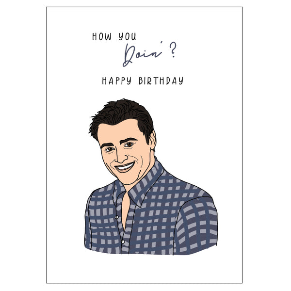 Joey Birthday Card