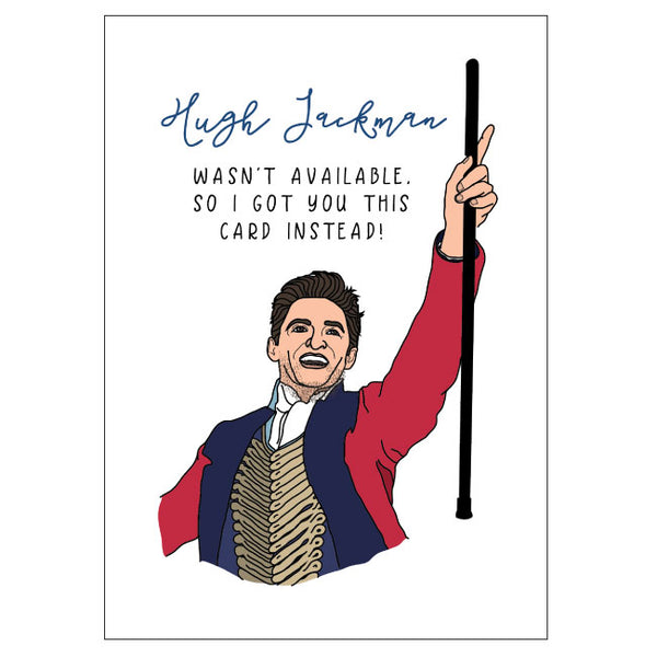 Hugh Jackman Birthday Card