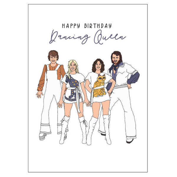 Abba Birthday Card