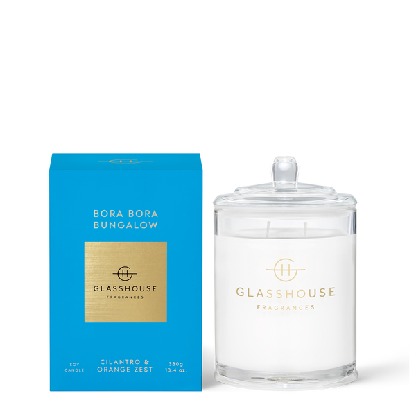 Bora Bora Bungalow - 380g Triple Scented Candle