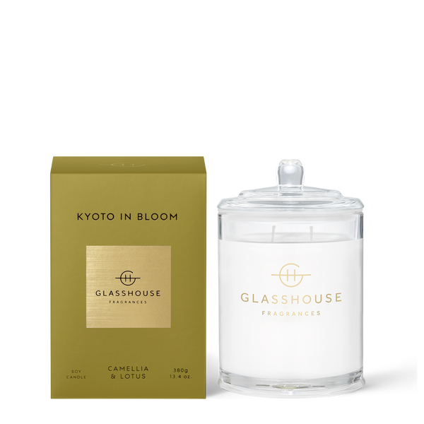 Kyoto in Bloom - 380g Triple Scented Candle