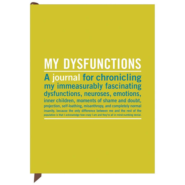 Knock Knock Inner Truth Journals - My Dysfunctions