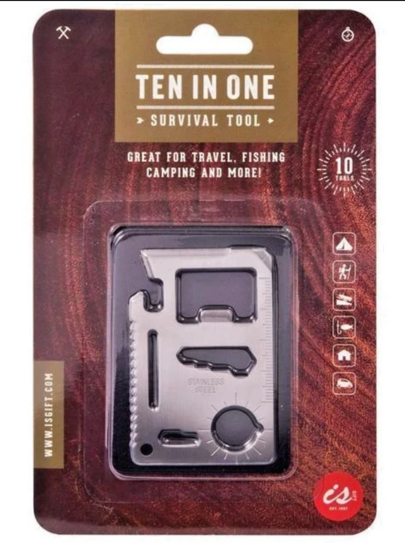 Ten in One Survival Tool
