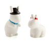 Rude Bunny Salt and Pepper Shakers