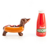 Sausage Dog & Ketchup Salt & Pepper Set