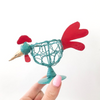 Wire Chicken Egg Cup