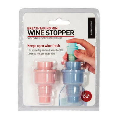 Vacuum Wine Stopper - Mini Twin Pack