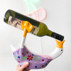 The Floral Duck Wine Bottle Holder