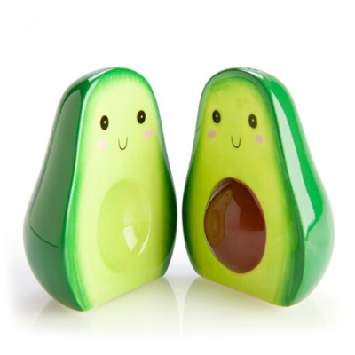 Avocado Salt & Pepper Set