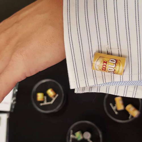 Beer Cuff Links