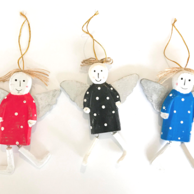XMAS Angels Christmas Tree Decoration