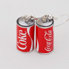 Coke Can Earrings