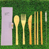 Re-use Bamboo Cutlery Set by IOCO