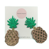 Medium Pineapple Dangle Earrings