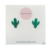 Mini Cactus Stud Earrings