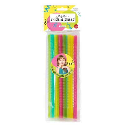 IS GIFT Whistling Straws