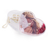 Snap - Love Heart Water Filled Personalised Trinket Box