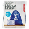 On-The-Go Backpack and Laundry Pouch