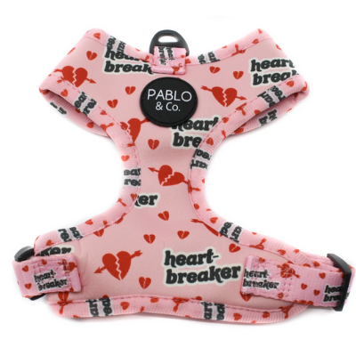 Pablo & CO Pink Heartbreaker: Adjustable Harness