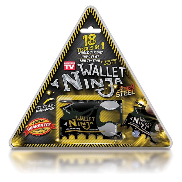 Wallet Ninja - 18 in 1 Multi Tool