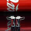 Coke Zero Can Earrings