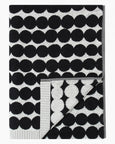 Marimekko Räsymatto Bath Towel Collection - Black, White