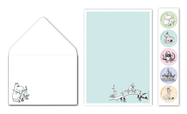 Moomin Letter Writing Set -  by Putinki Press