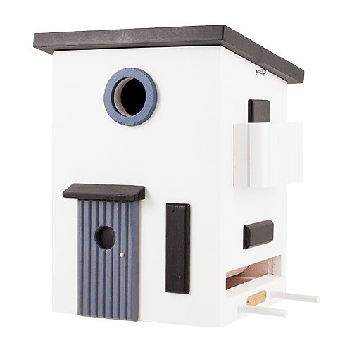 Multiholk Functional House - Bird House Feeder