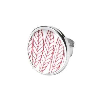 Sägen Sweden Salix Ring - Red