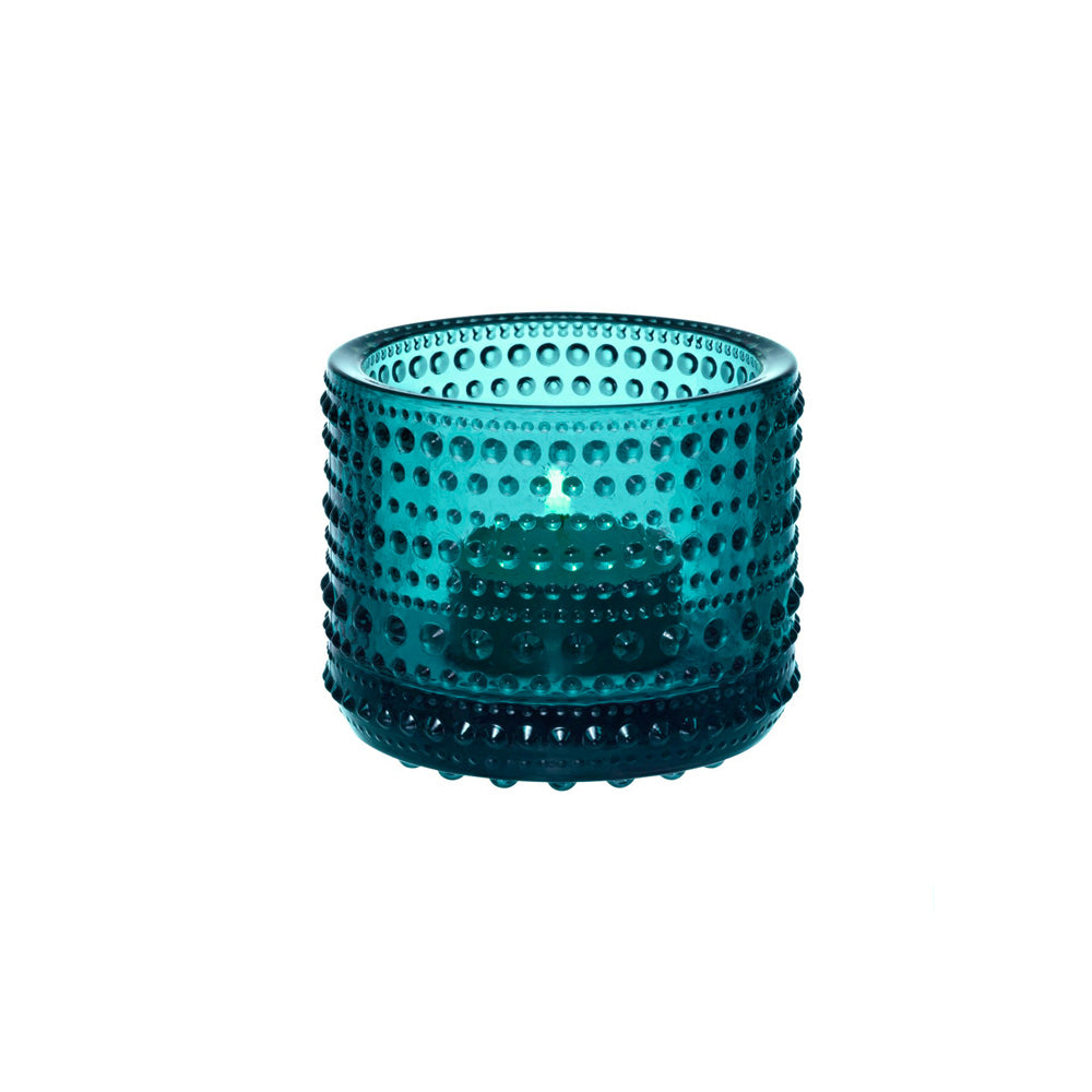 Iittala Kasthelmi Tealight Holder (Seablue)