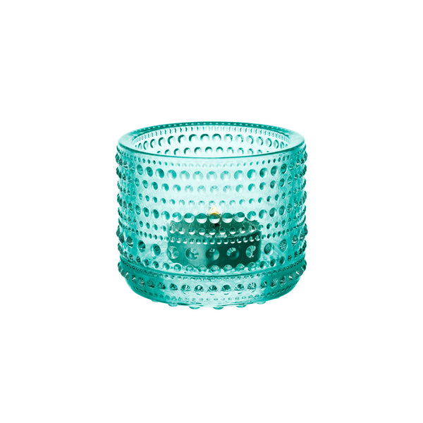 Iittala Kasthelmi Tealight Holder (Water Green)