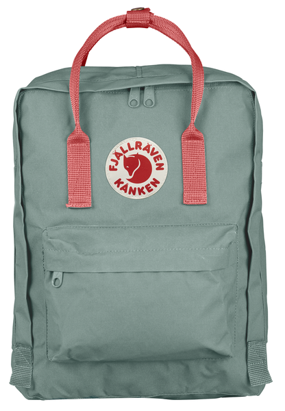Fjallraven Kånken Backpack - Original - Frost Green / Pink