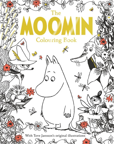 Moomin's Mindfulness Colouring Book