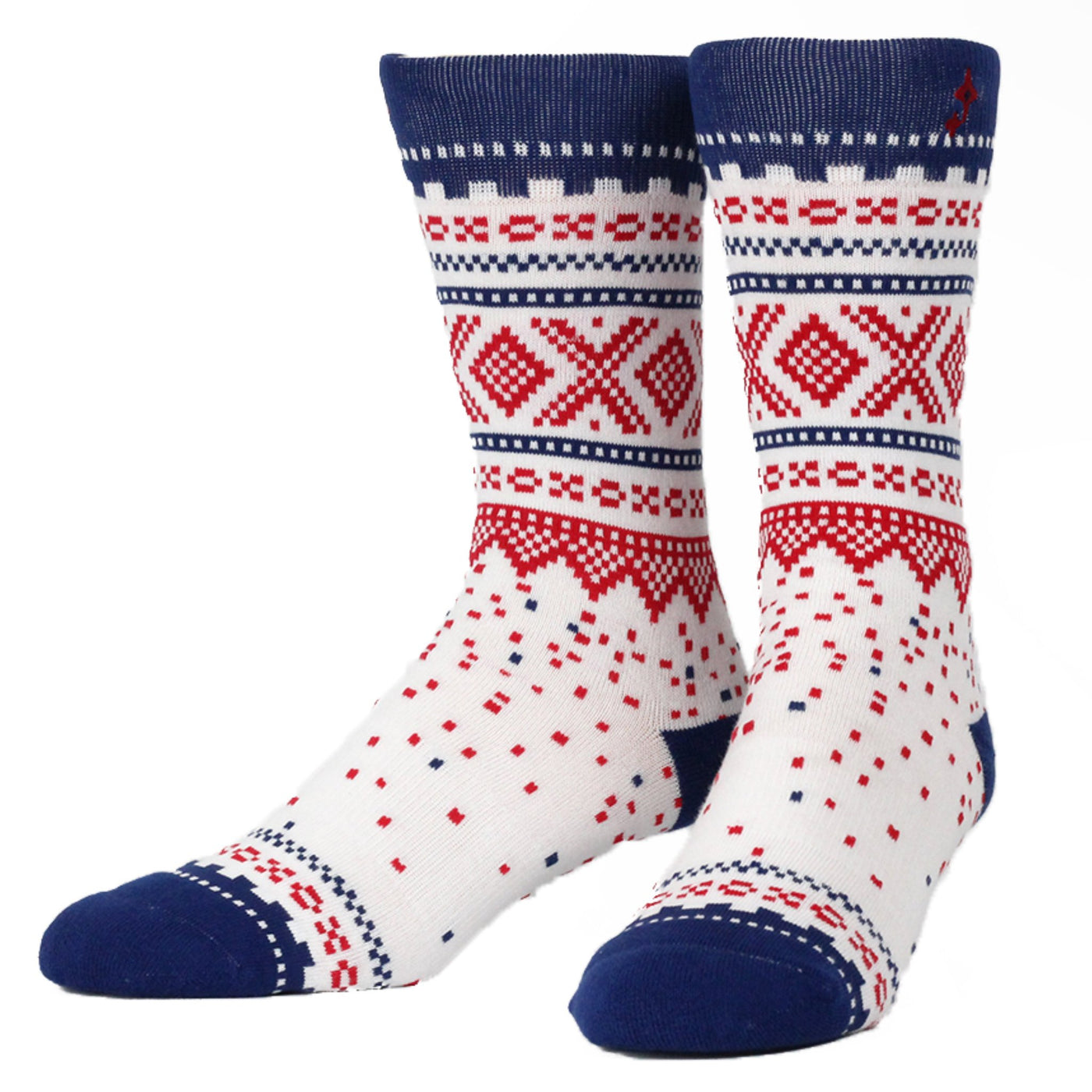Marius Summer White Crew Socks