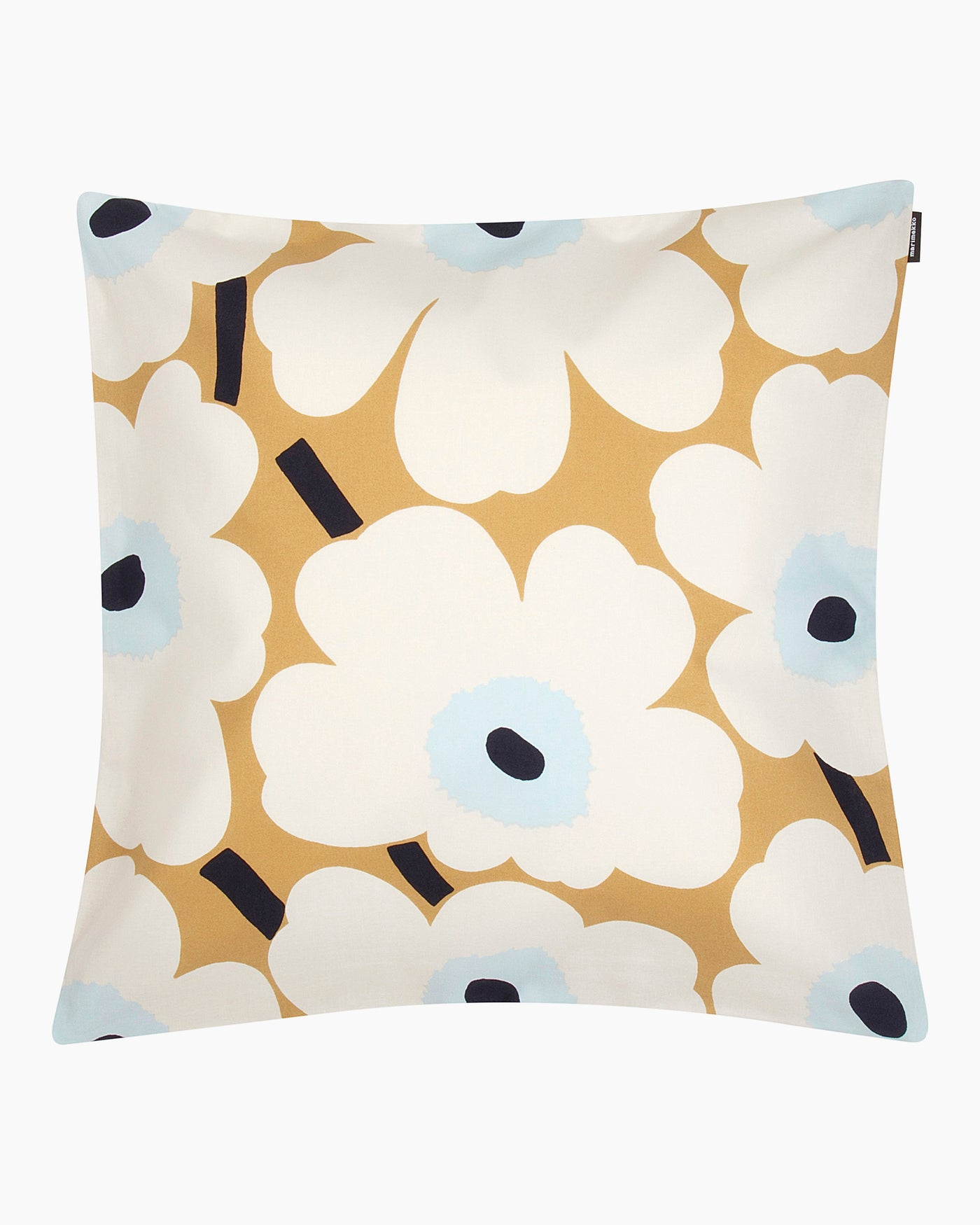 Marimekko Unikko Cushion Cover - Beige, Off White, Blue