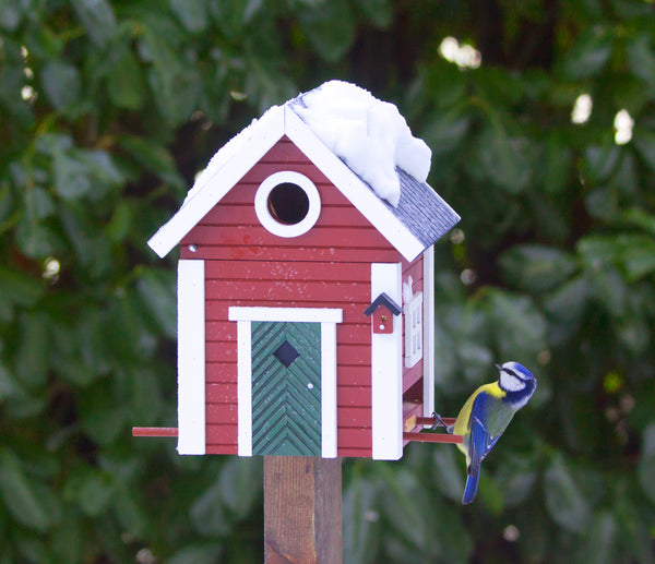 Swedish Summercabin Bird House