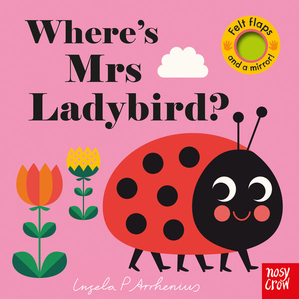 Book - Where's Mrs Ladybird by Ingela P Arrhenius