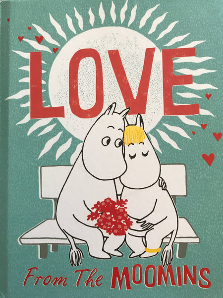 Love from the Moomins- Hardback book