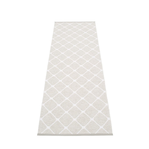 Pappelina Rug - Rex - Fossil Grey / white