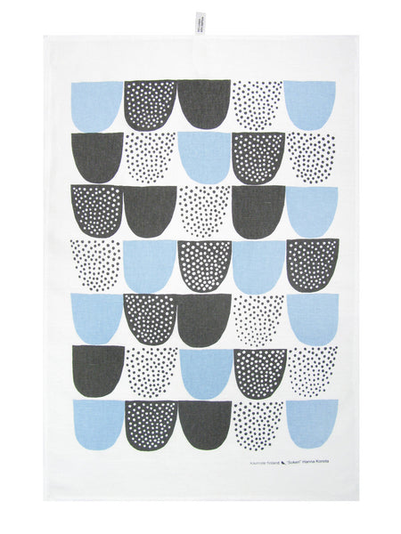 Kauniste - Sokeri Tea Towel - Blue
