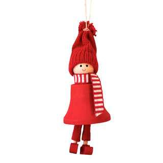 Christmas - Santa Fride Hanging Decoration - Red