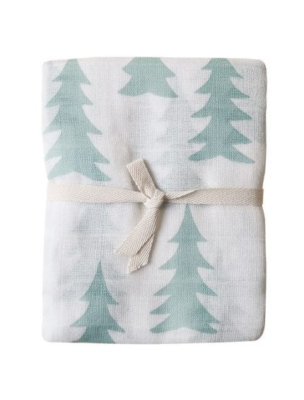 Fine Little Day - Muslin Blanket - Gran - Sage
