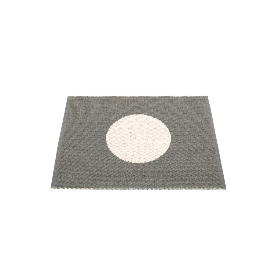 Pappelina Rug Vera Small One 70 x 90cm Charcoal