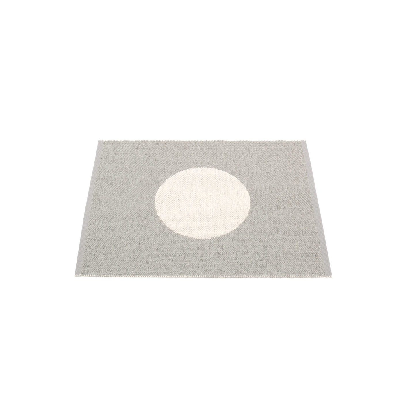 Pappelina Rug Vera Small One 70 x 90cm Warm Grey