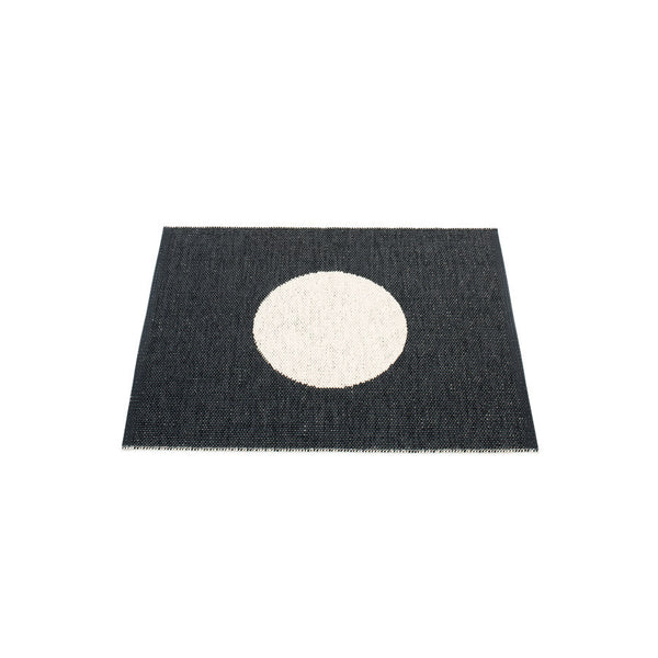 Pappelina Rug Vera Small One 70 x 90cm Black