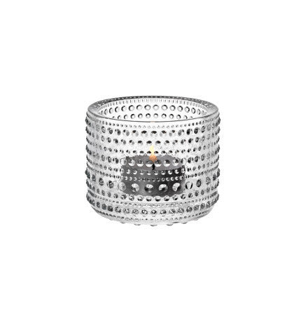 Iittala Kasthelmi Tealight Holder (Clear)