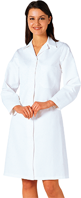 Portwest 2205 Ladies Food Coat 1 Pocket