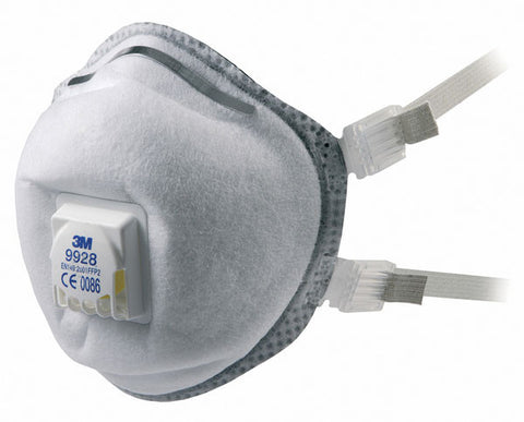 3M 9928 MASK P2V R OZONE Pack of 10