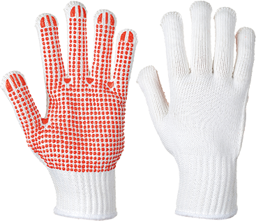 Portwest A112 Heavyweight Polka Dot Glove